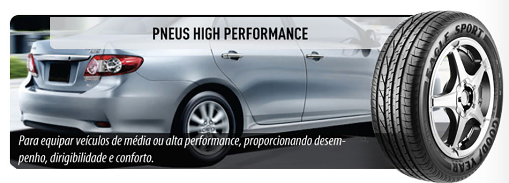 Pneu Goodyear High Performance
